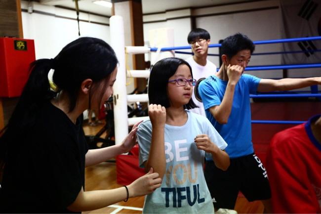 이민자 가정 자녀 대상 권투교실 운영(서울청) 사진 4