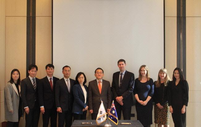 한-호주 출입국관리 고위급 회담 개최 사진 4